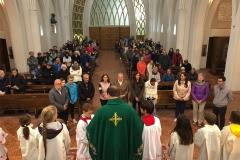 Avvio catechismo a Frassenè (2018)
