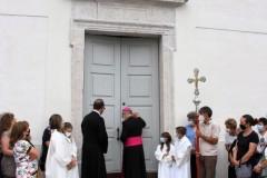 Riapertura al culto chiesa Tiser (2021)