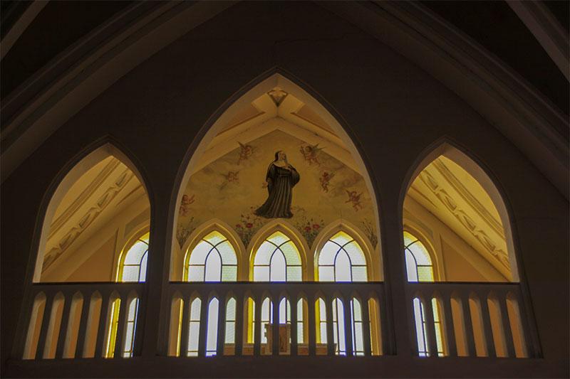 Chiesa nuova di Frassenè cappella dedicata a S. Rita da Cascia
