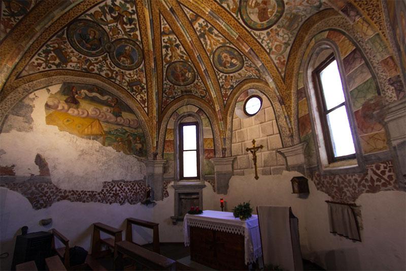 Chiesa parrocchiale: abside cinquecentesca della chiesa originaria