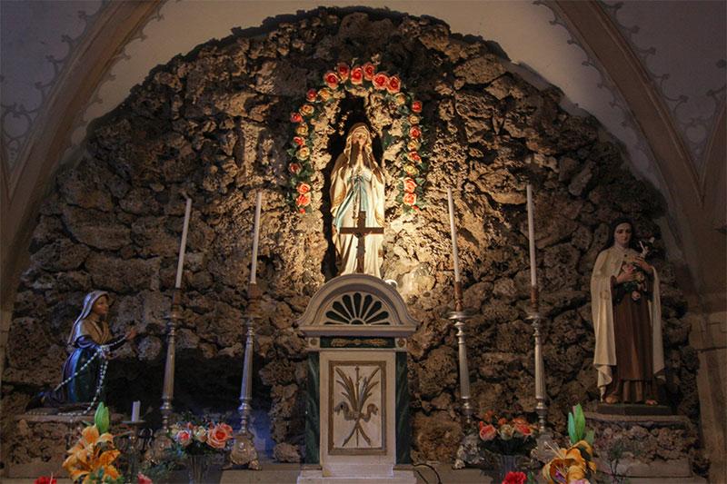Chiesa parrocchiale di Tiser: cappella dedicata alla B.V.