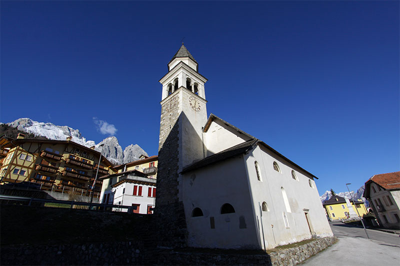 La chiesa antica di Frassenè