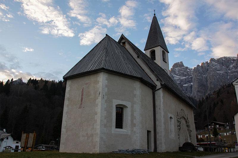 Chiesa vecchia di S. Giacomo: dettaglio