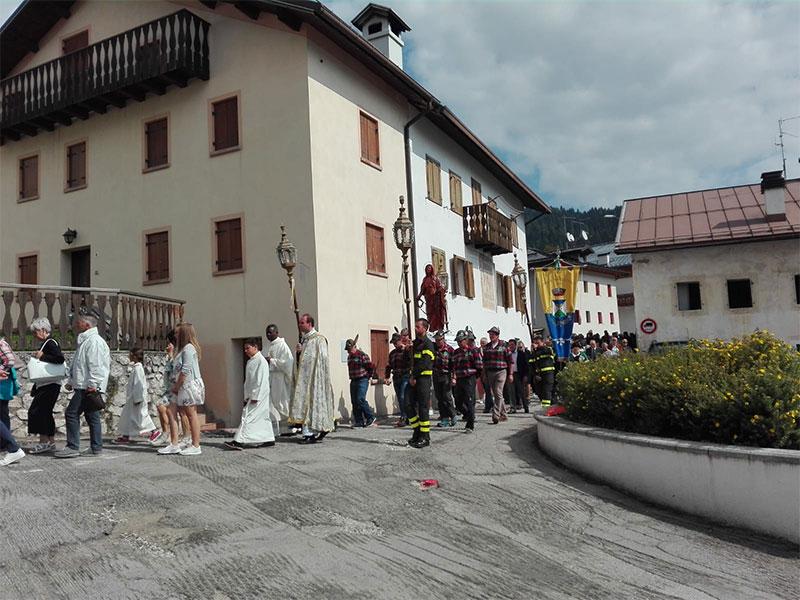 Processione dell'Addolorata a Gosaldo