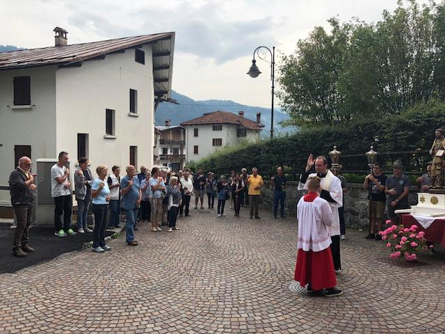 Processione di S. Gaetano a Frassenè