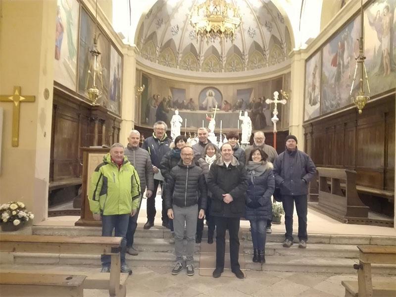 Visita a Tiser della Corale parrocchiale di Alano di Piave