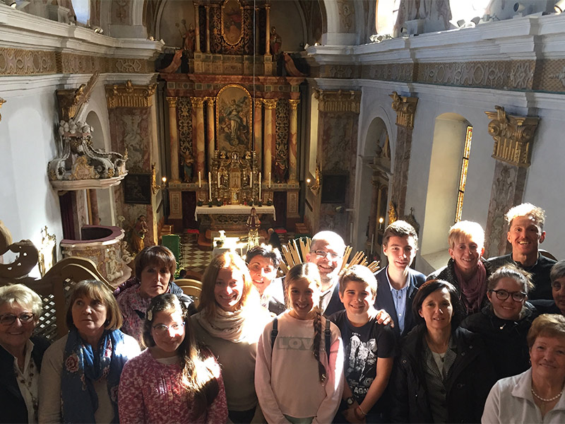 Visita al santuario di Pietralba