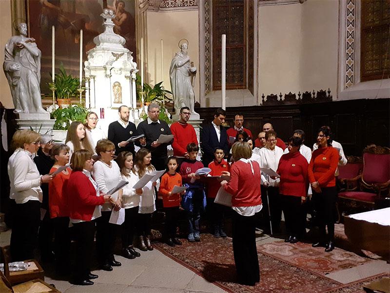 Il Coro s. Cecilia ospite in Val di Zoldo