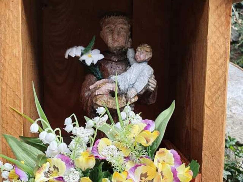 L'immagine votiva di s. Antonio ai Paganin di Tiser